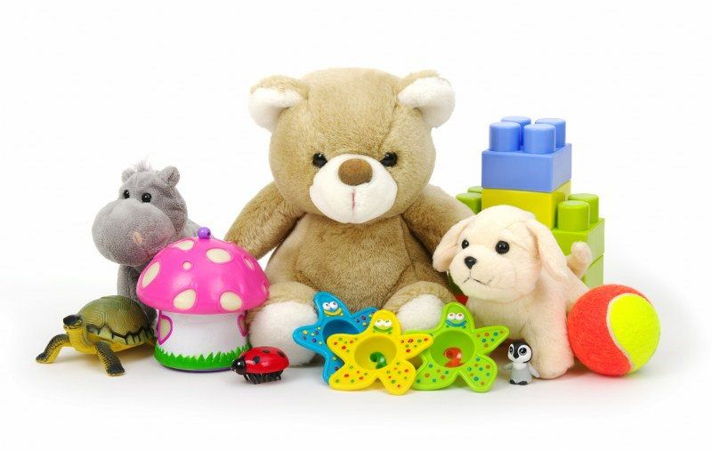 cleaning toys