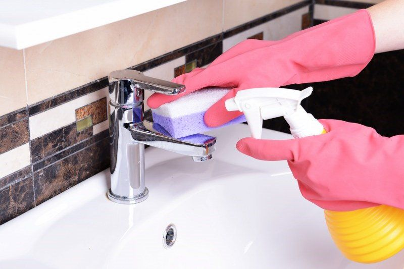 how to get rid of hard water stains in dishwasher
