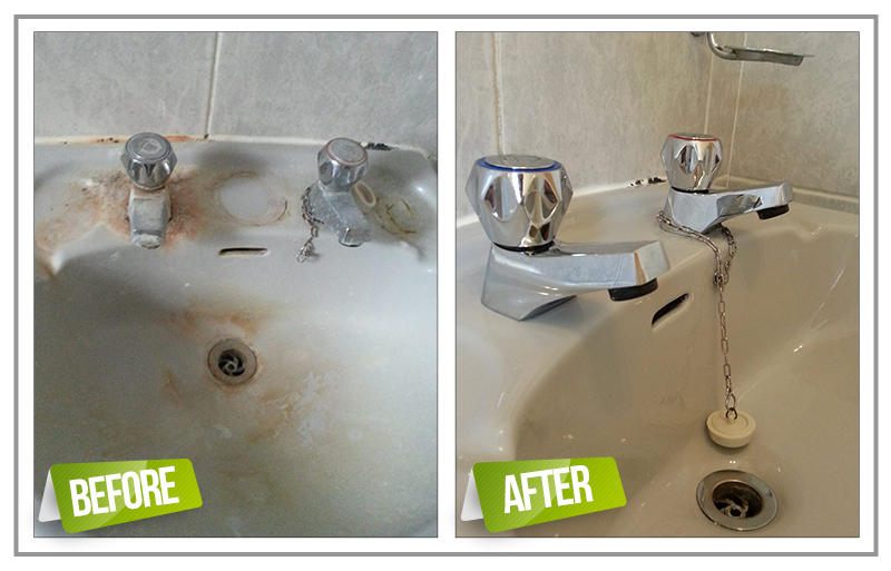 Clean Faucet Tips