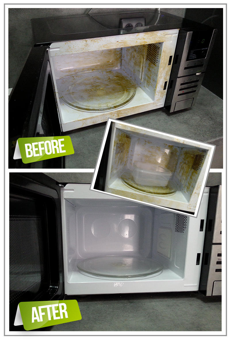 Clean Microwave Tips