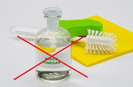 6 Things You Should NOT Clean with Vinegar