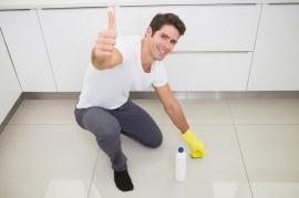 A Young Man's House Cleaning Lessons