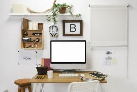 Working at Home? Here's How to Keep Your Home Office Clean