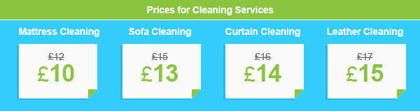 Amazing Deals on Bespoke Cleaning Services across W3