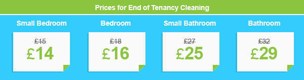 Attractive Prices on End of Lease Cleaning Services in E14