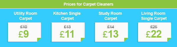 Discounts on Reliable Carpet Cleaners in NW10
