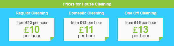 Low Priced Residential House Cleaning Services in Bow